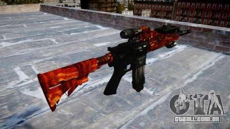 Automatic rifle Colt M4A1 bacon para GTA 4 segundo screenshot