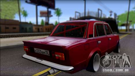 VAZ 2106 Esporte para GTA San Andreas esquerda vista