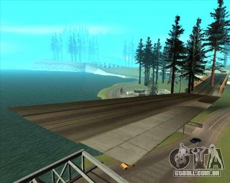 Sky Road Merdeka para GTA San Andreas sétima tela