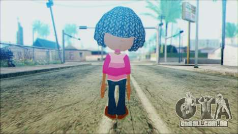 Libby Folfax from Jimmy Neutron para GTA San Andreas segunda tela