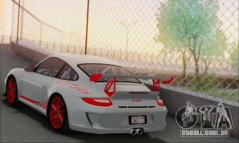 Porsche 911 GT3 2010 para GTA San Andreas vista direita