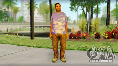 GTA 5 Ped 21 para GTA San Andreas