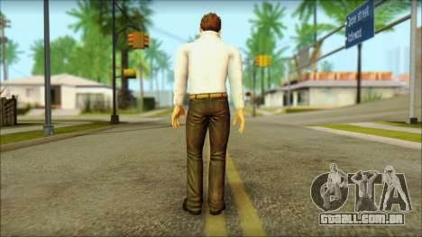 Dead Or Alive 5 Jann Lee 3rd Outfit para GTA San Andreas segunda tela