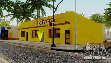 Novas texturas para Binco na grove street para GTA San Andreas