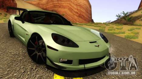 Chevrolet Corvette Z06 2006 Drift Version para GTA San Andreas