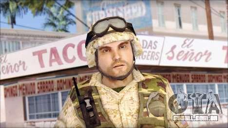 USA Soldier para GTA San Andreas terceira tela