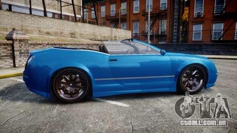 GTA V Enus Cognoscenti Cabrio para GTA 4 esquerda vista