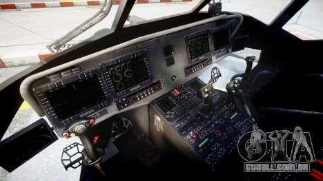 Sikorsky MH-X Silent Hawk [EPM] v2.0 para GTA 4 vista de volta