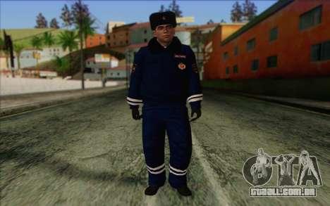 DPS de Pele 1 para GTA San Andreas