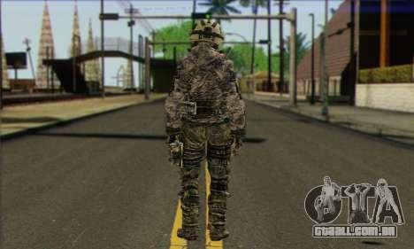 Task Force 141 (CoD: MW 2) Skin 1 para GTA San Andreas segunda tela