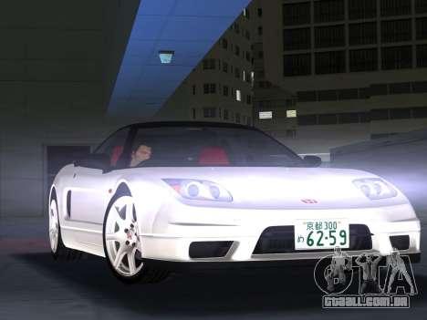 Honda NSX-R para GTA Vice City deixou vista