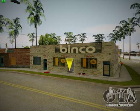 Quebrado loja Binco para GTA San Andreas