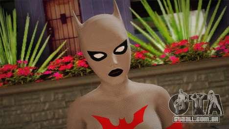 The Mystery of Batwoman para GTA San Andreas terceira tela