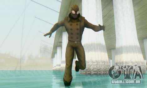 Skin The Amazing Spider Man 2 - DLC Noir para GTA San Andreas segunda tela