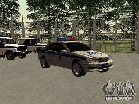 Mercedes Dps para GTA San Andreas vista direita