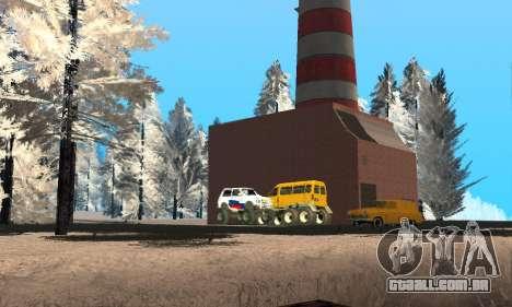 A neve para GTA Penal Rússia beta 2 para GTA San Andreas nono tela
