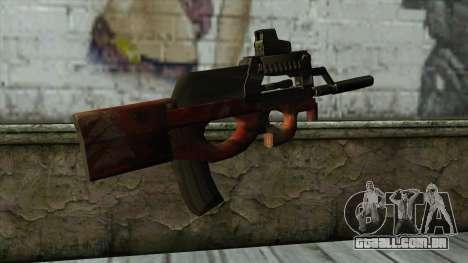 P90 from PointBlank v3 para GTA San Andreas segunda tela
