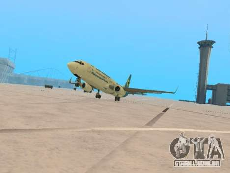 Boeing 737-84R Ukraine International Airlines para GTA San Andreas