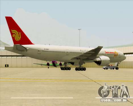 Boeing 777-200ER Air China para GTA San Andreas interior
