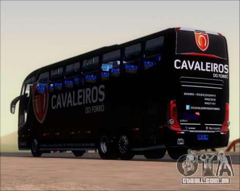 Marcopolo Paradiso G7 1600LD Scania K420 para GTA San Andreas vista inferior