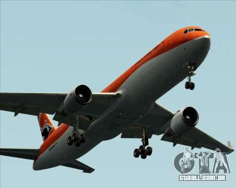 Boeing 767-300ER Australian Airlines para GTA San Andreas vista inferior