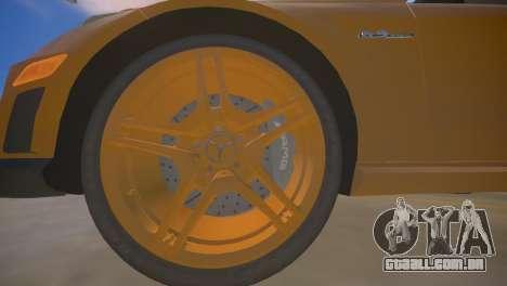 A Mercedes-Benz E63 AMG для GTA 4 para GTA 4 vista inferior