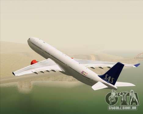 Airbus A330-300 Scandinavian Airlines System. para GTA San Andreas