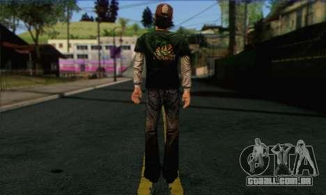 Kenny from The Walking Dead v1 para GTA San Andreas segunda tela
