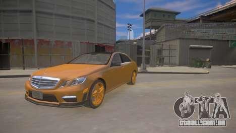 A Mercedes-Benz E63 AMG для GTA 4 para GTA 4
