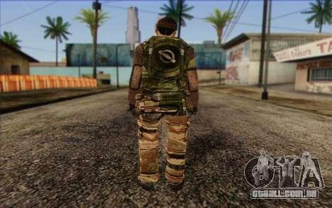 Soldados MEK (Battlefield 2) Pele 2 para GTA San Andreas segunda tela