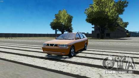 Daewoo Nubira I Wagon CDX US 1999 para GTA 4 esquerda vista