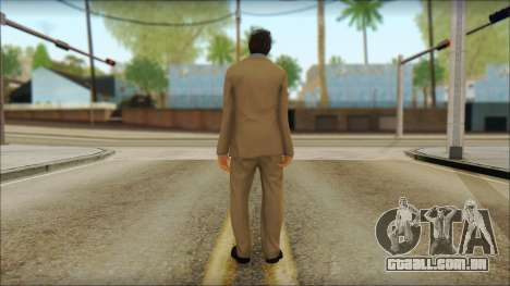 GTA 5 Ped 5 para GTA San Andreas segunda tela