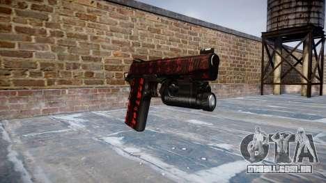 Arma Kimber 1911 Arte da Guerra para GTA 4