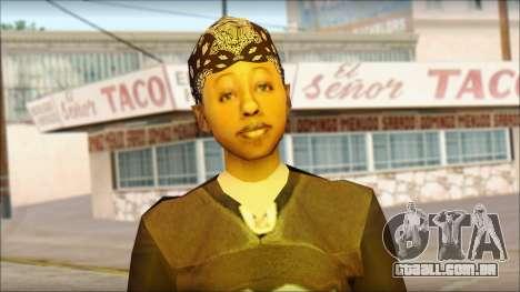 Afro - Seville Playaz Settlement Skin v4 para GTA San Andreas terceira tela