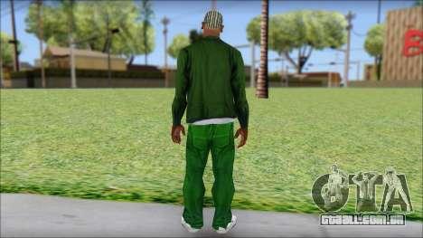 New CJ v2 para GTA San Andreas segunda tela
