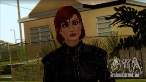 Mass Effect Anna Skin v8 para GTA San Andreas terceira tela