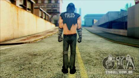 Manhunt Ped 4 para GTA San Andreas segunda tela