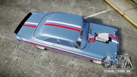 Chevrolet II Nova SS 1966 Custom [EPM] PJ2 para GTA 4 vista direita
