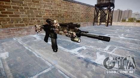 Automatic rifle Colt M4A1 zumbis para GTA 4