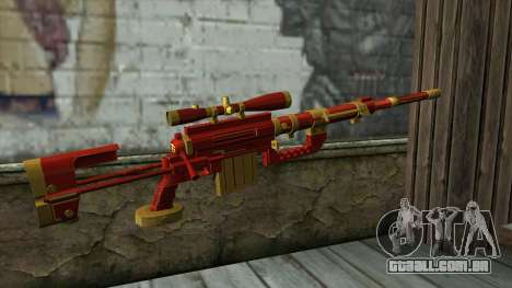 Sniper Rifle from PointBlank v1 para GTA San Andreas segunda tela