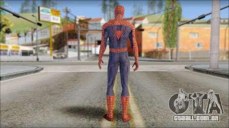 Red Trilogy Spider Man para GTA San Andreas segunda tela