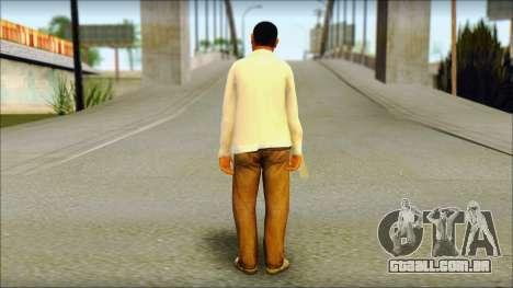 GTA 5 Ped 23 para GTA San Andreas segunda tela