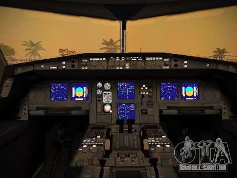 Airbus A340-600 South African Airways para as rodas de GTA San Andreas