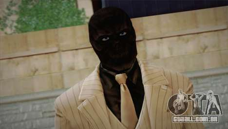 Black Mask para GTA San Andreas terceira tela