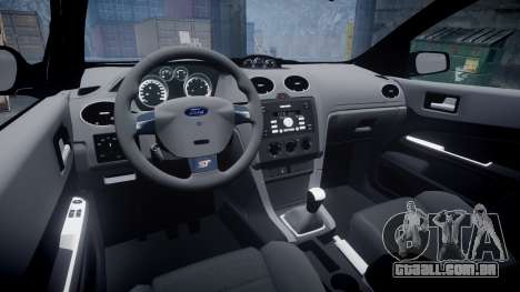 Ford Focus ST 2005 Rieger Edition para GTA 4 vista interior