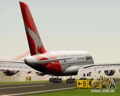 Airbus A380-841 Qantas para o motor de GTA San Andreas