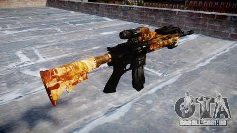 Automatic rifle Colt M4A1 elite para GTA 4 segundo screenshot