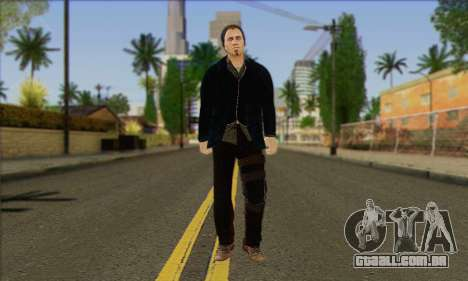 Damien from Watch Dogs para GTA San Andreas