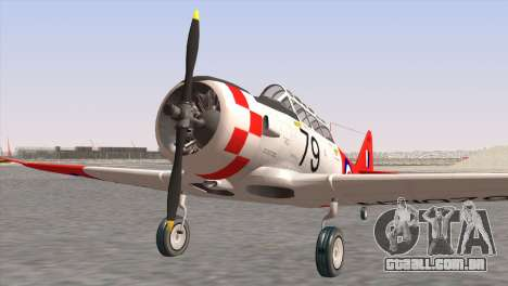 North American T-6 TEXAN NZ1079 para GTA San Andreas
