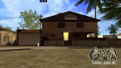 Novas texturas HD casas na grove street v2 para GTA San Andreas segunda tela